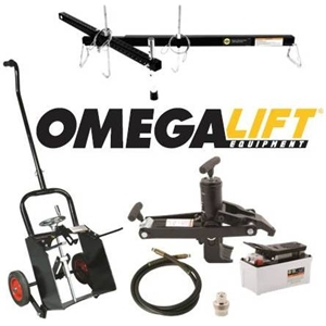 Omega lift equipment shop equipment for Parlour equipment